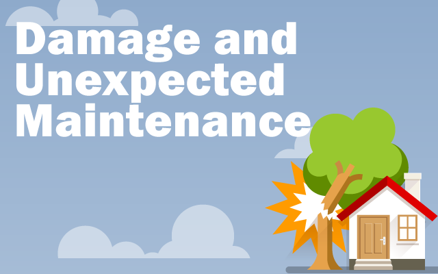 Damaged and Unexpected Maintenance