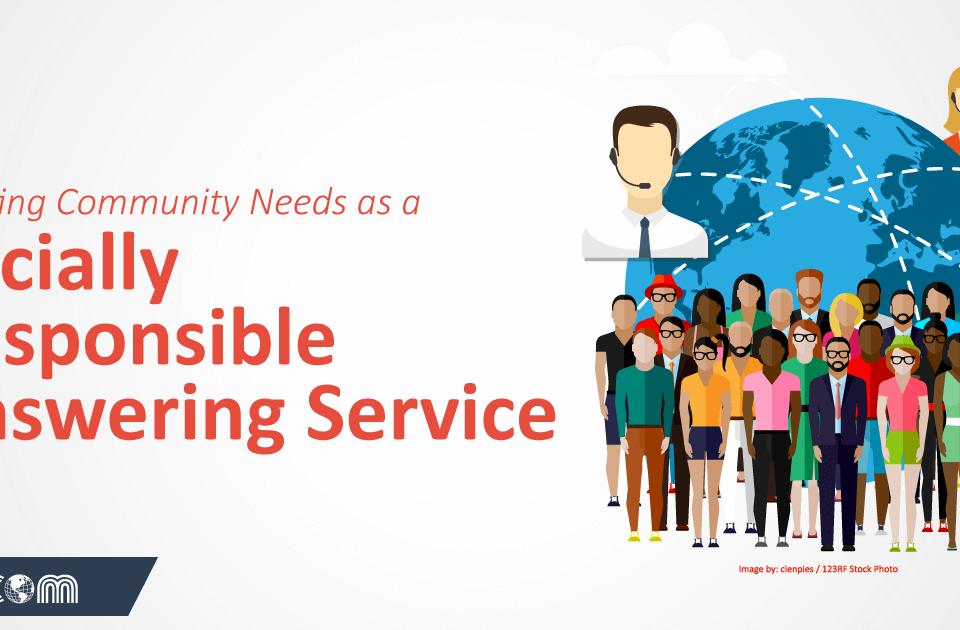social responsible answering service