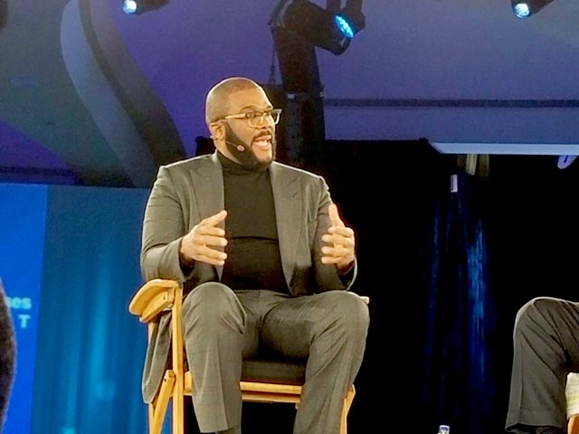 Tyler Perry at Goldman Sach's Businesses Summit